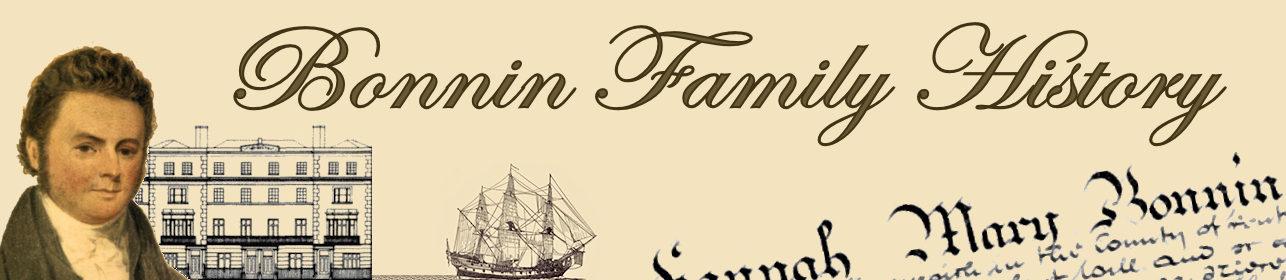 Bonnin  Family History